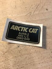 """Arctic Cat Snowmobile """"440 LC"""" Decal Sticker Vintage"""