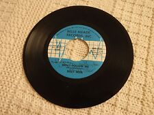 MEMPHIS BILLY WEIR DON'T FOLLOW ME/A HUNDRED YEARS BELLE MEADE AUTOGRAPHED M-