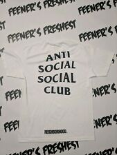 Anti Social Social Club T-Shirts Turbo Neighborhood/ Size Large/ Brand New DS
