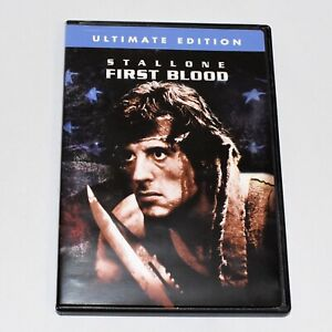 First Blood Sylvester Stallone Richard Krenna Ultimate Edition DVD Widescreen