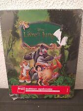 1 Blu-ray + 2 DVD Le Livre De La Jungle Steelbook Édition Limitée Exclusive FNAC