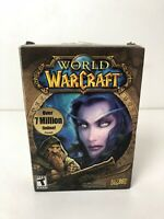 World of Warcraft Original Box PC Game Blizzard 2004