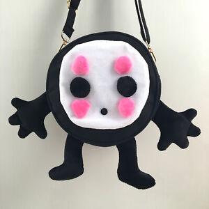 Ghibli Spirited Away No Face Canvas Shoulder Cross Body Bags Anime Leisure Bag