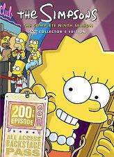 The Simpsons - Season 9 (DVD, 2009, 4-Disc Set)