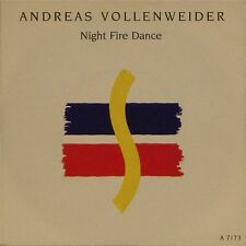 """ANDREAS VOLLENWEIDER 'NIGHT FIRE DANCE' UK PICTURE SLEEVE 7"""" SINGLE #4"""