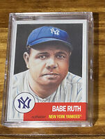 2018 Topps Living Babe Ruth Baseball Card # 100 - New York Yankees All Timer!!!!