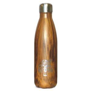 Northwest Coast Swell Wood Grain Insulated Water Bottle