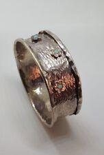 Solid Sterling Silver 925 Bracelet Bangle Opal stones