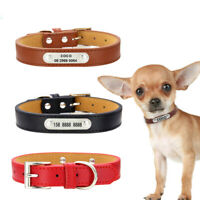 Adjustable Pet Collar Personalized Dog Tag Collar Engraved Dogs ID Collars S-2XL