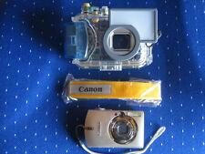 Canon Ixus 750 mit 2GB SD-Karte und Tauchgehäuse DC 80