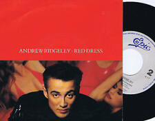 "ANDREW RIDGELEY red dress / instrumental 7"" EPIC dance disco electro funk MINT"