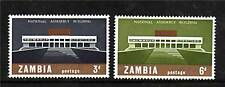 Zambia 1967 National Assembly Building SG120/1  MNH