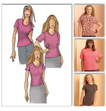 Knit Womens Blouse Top Connie Crawford Sewing Pattern XXL 1X 2X 3X 4X 5X 6X