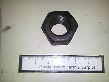 New Large Steel Hexagon Nut 1 12 6 Unc Right Hand Threaded