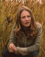 "Britt Robertson ""Tomorrowland"" AUTOGRAPH Signed 'Casey Newton' 8x10 Photo"
