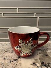 Large Things Remembered Red Snowflake Christmas Mug With Box