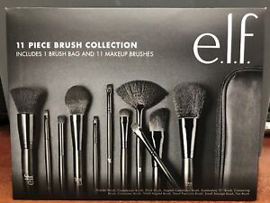 1 ELF 11 Piece Brush Collection with Bag B85015