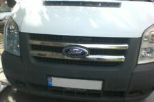 Ford Transit 2006-2013  MK7 Chrome Front Grill Trim Cover 2pcs S.STEEL