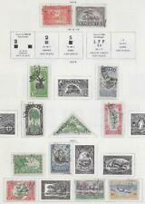 12 Liberia Stamps from Quality Old Antique Album 1914-1921