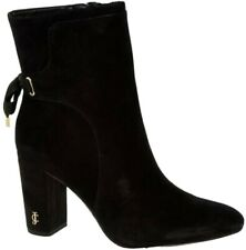 Juicy couture Black Leather Heeled Ankle Boots UK 6 US 9 EU 39 RRP£180