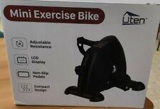 UTEN Cyclette e Pedaliera mani e piedi - Regolazione di Intensità - Nera