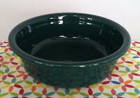 Fiestaware Evergreen Companion Bowl Fiesta Retired Dark Green 30 oz Bowl