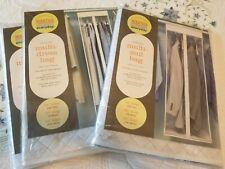 Set of (3) Martha Stewart Everyday Hanging Multi-Garment Bags (2-Suit, 1-Dress)