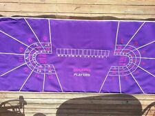 Genuine Authentic Baccarat Layout Casino Quality BRAND NEW 14 Player Full Size