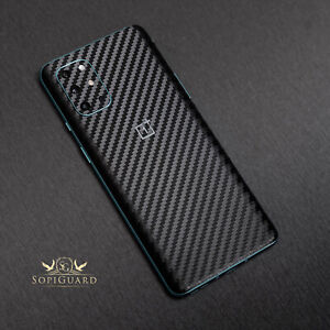 SopiGuard 3M Avery Oracal Carbon Fiber Skin Back Only for Oneplus 8T