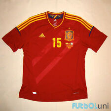 Camiseta España Adidas EURO 2012 Sergio Ramos (talla L)