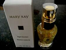 NEW Mary Kay 1 FL OZ OIL FREE NIGHT SOLUTION  #6577 MIB ALL SKIN TYPES