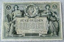 5 Gulden Austria 1881 XF-