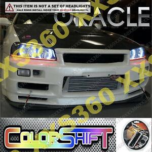 ORACLE Headlight HALO RING KIT for Nissan Skyline R34/GTR 98-01 ColorSHIFT 1.0