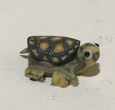 Miniature Adorable Green/Brown Teeny Tiny Turtlefor Your Mini Garden, 5/8� Long