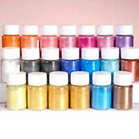 20 Colors Natural Mica Powder Epoxy Resin Dye Pearl Pigment Mineral Mica Powder