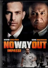 NEW DVD - NO WAY OUT - KEVIN COSTNER, GENE HACKMAN , SEAN YOUNG ,