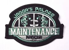 """Star Wars Celebration VI- Jabba's Palace Maintenance  3.5"""" Patch- (SWPA-C-603)"""