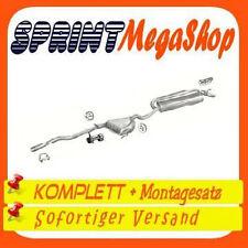 Auspuff Fiat Marea 1.6 76 KW 1996-2002 Stufenheck  Kombi Auspuffanlage 0219