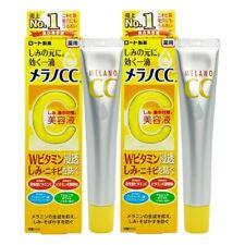 ( Pack of 2 ) Rohto Melano CC Anti-Spot Whitening Serum ~ 7-14 Days Arrive !!!