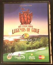 Fred Funk & Jeff Sluman Signed PGA Golf Program  Branson Legends Of Golf 2014