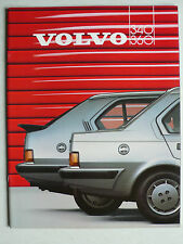 Prospekt Volvo 340 / 360 (340 - 360 GLE), 2.1986, 40 Seiten