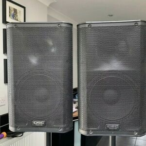 QSC K10 Speakers x 2 with covers (USED)