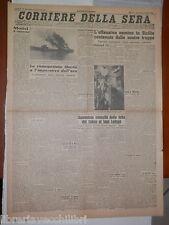 1 agosto 1943 Guerra in Sicilia Dimissioni di Ciano dal Vaticano Alicante di e