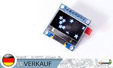 "0,96"" i2c SPI oled 5v display 128x64 píxeles blanco para Arduino elaboración de prototipos"
