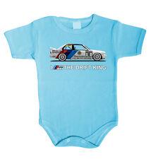 Baby Body BMW E30 Drift  Babykleidung Strampler Unterwäsche Weihnachtsgeschenk