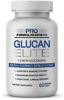 Glucan Elite - 1,3D Beta Glucan 85% 60 caps (30 servings)