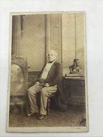 Antique British Prime Minister W.E. Gladstone CDV Photo Southwell Brothers Orig.