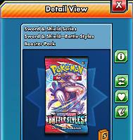 50x Battle Styles Codes Messaged /sent ingame fast - Pokemon TCG Online