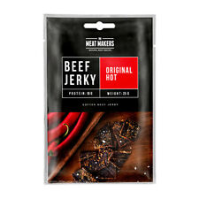 The Meat Makers BEEF JERKY Original HOT with Chilli Peppers 25g 0.88oz