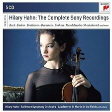 Bach / Hahn / Baltim - Hilary Hahn: The Complete Sony Recordings [New CD]